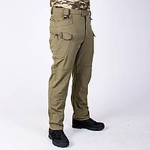 Тактические штаны на флисе Softshell Esdy Pro Olive