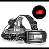 Налобний ліхтар BL POLICE 2188B 158000W T6 ліхтарик 1050 Lumen, фото 6