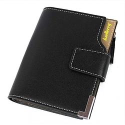 Клатч чоловічий гаманець портмоне Baellerry D1282 business Чорний