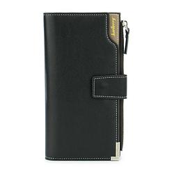 Клатч чоловічий гаманець портмоне барсетка Baellerry Carteira C1283 Чорний