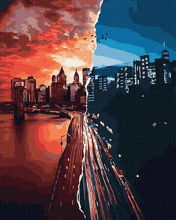 Картина по Номерам Закат и рассвет 40х50см RainbowArt, фото 2