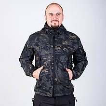 Тактическая Куртка Soft Shell ESDY TAC.-01 Black Multicam