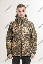 Куртка Soft Shell G.-01 Пиксель ЗСУ