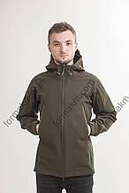 Куртка тактическая демисезонная G.-01 SoftShell хаки