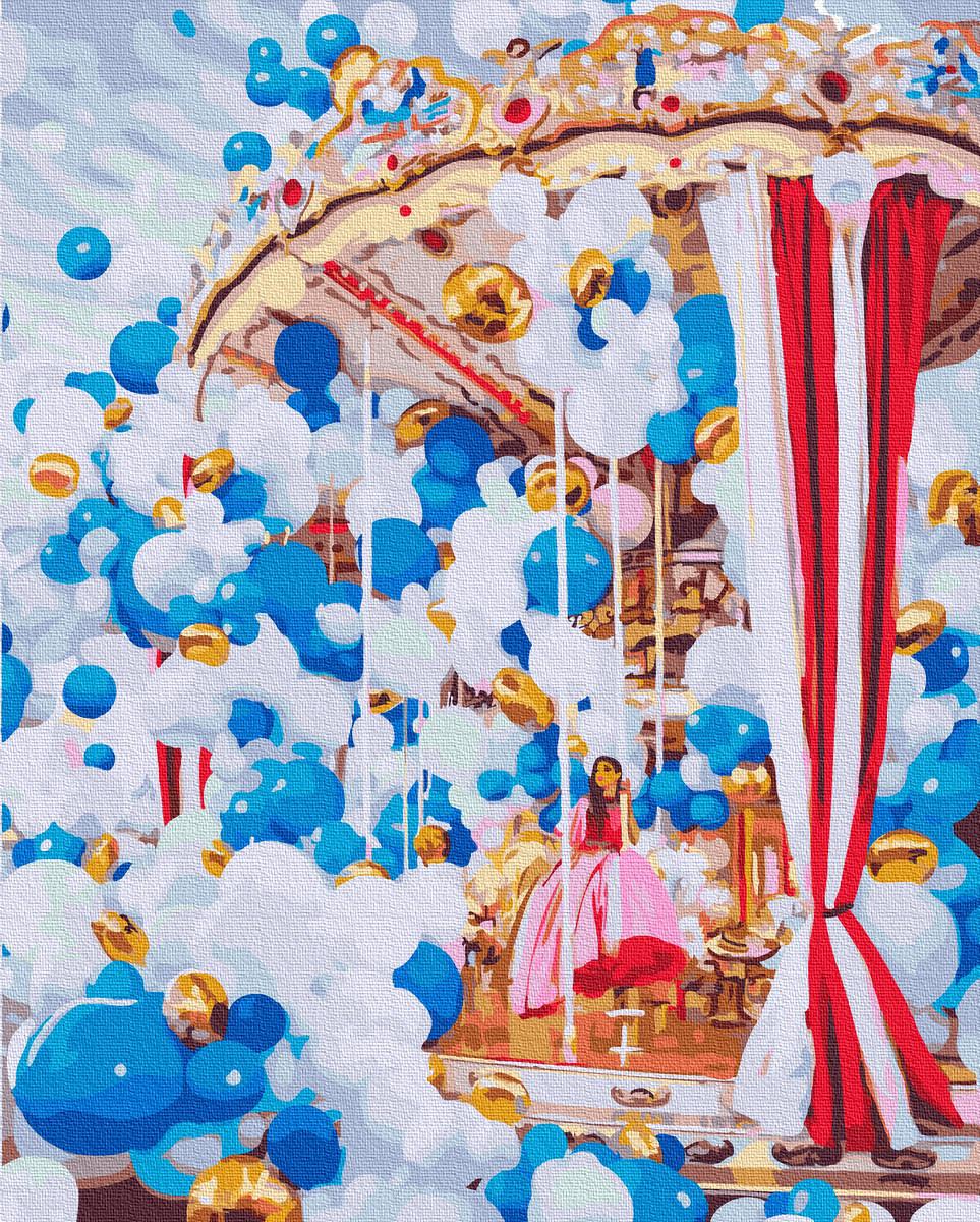 Картина по Номерам Карусель 40х50см RainbowArt