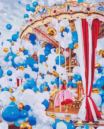 Картина по Номерам Карусель 40х50см RainbowArt, фото 2