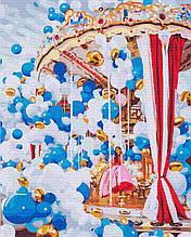 Картина за Номерами Карусель 40х50см RainbowArt