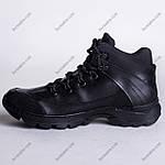 Ботинки Тактические, Зимние Шторм Черный, фото 2