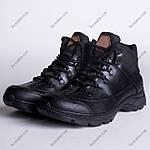 Ботинки Тактические, Зимние Шторм Черный, фото 3