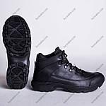 Ботинки Тактические, Зимние Шторм Черный, фото 4