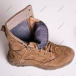 Ботинки Тактические, Зимние AR-01 Песочные ( натуральный мех ), фото 5
