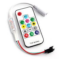 Контролер RGB LED WS2812B адресний бездротовий, фото 1