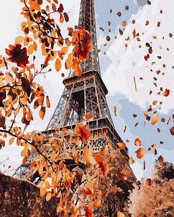 Картина по Номерам Осень в Париже 40х50см RainbowArt, фото 2