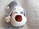 Іграшка-плед-подушка  Велика собака🐶🐾 розмір іграшки 70х35, фото 8
