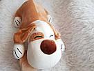 Іграшка-плед-подушка  Велика собака🐶🐾 розмір іграшки 70х35, фото 7