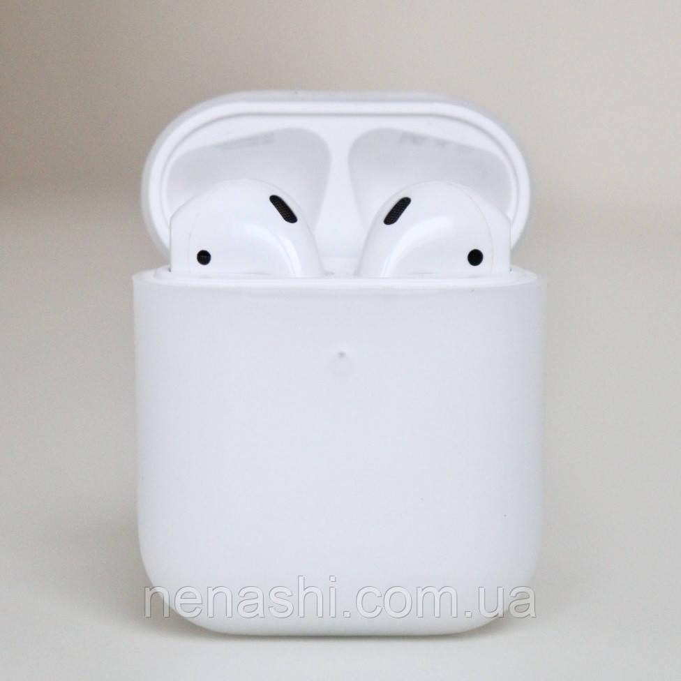 Чохол силіконовий для бездротових навушників Apple AirPods з карабіном Прозорий