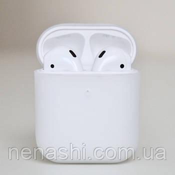 Чехол силиконовый для беспроводных наушников Apple AirPods Прозрачный