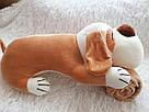 Іграшка-плед-подушка  Велика собака🐶🐾 розмір іграшки 70х35, фото 6