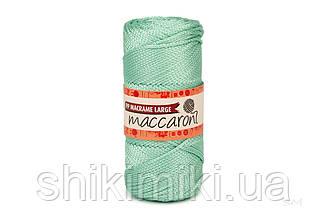 Трикотажный шнур PP Macrame Large 3 mm, цвет Ментол