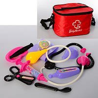 Доктор медицинские инструменты, ножницы, сумка 24*14*17см (36шт)