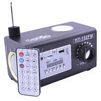 Портативная колонка, радиоприемник 102 FM