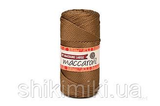 Трикотажный шнур PP Macrame Large 3 mm, цвет Бронза