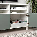 IKEA STUK Коробка с отделениями, белая, 34x51x10 см (904.744.38), фото 2