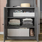IKEA STUK Коробка с отделениями, белая, 34x51x10 см (904.744.38), фото 7