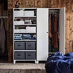 IKEA STUK Коробка с отделениями, белая, 34x51x10 см (904.744.38), фото 9