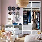 IKEA STUK Контейнер для одежды/постельных принадлежностей, белый/серый, 55x51x18 см (403.095.73), фото 4