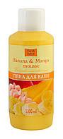 Пена для ванн Fresh Juice Banana & Mango mousse (Бананово-манговый мусс) - 1 л.