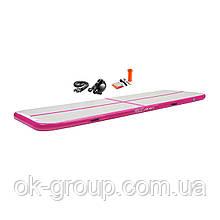 Мат гимнастический надувной 4FIZJO Air Track Mat 400 x 100 x 10 см 4FJ0094