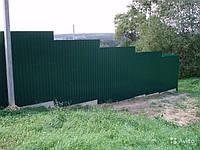 Профнастил С-10 RAL 6005 (зеленый) 0,4мм  стеновой