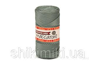Трикотажний шнур поліпропіленовий PP Macrame Large 3 mm, колір Сірий