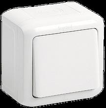 Переключатель 1-клавишный Quteo-Forix IP44 белый