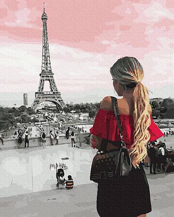 Картина по Номерам Встреча с Парижем 40х50см RainbowArt, фото 2