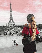Картина за Номерами Зустріч з Парижем 40х50см RainbowArt