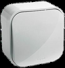 Выключатель 1-клавишный Quteo-Forix IP20 белый