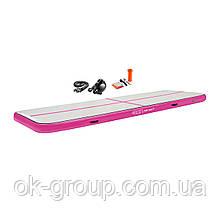 Мат гимнастический надувной 4FIZJO Air Track Mat 400 x 100 x 20 см 4FJ0173