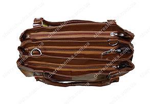 Женская сумочка кожаная из кусочков Tongle 36152, фото 3