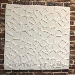 Самоклеющаяся декоративная потолочная/стеновая 3D панель Паутина 700x700x10 мм