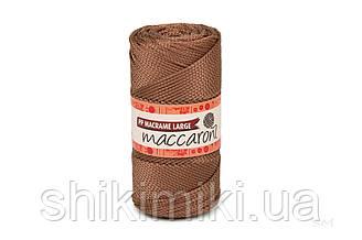 Трикотажный шнур PP Macrame Large 3 mm, цвет Медный