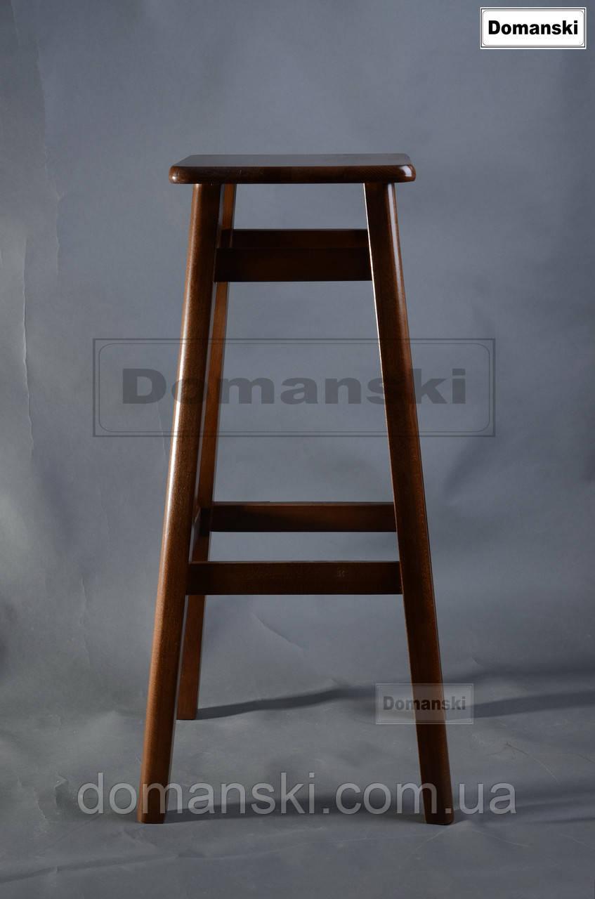 Барные стулья. Барный   табурет тонированный под лаком. Стул для кофейни. 80 см высота.