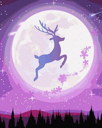 Картина по Номерам Сказочный олень 40х50см RainbowArt, фото 2