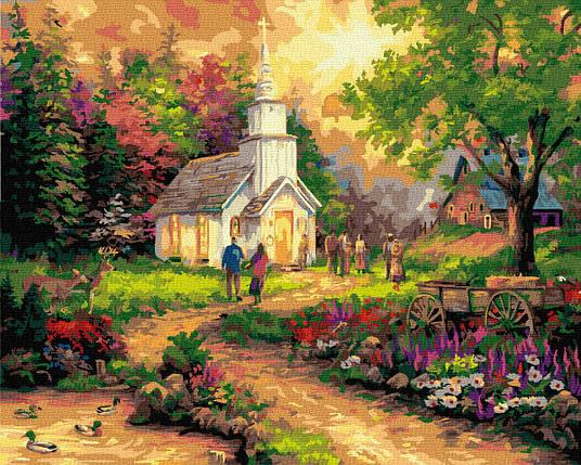 Картина по Номерам Воскресный приход 40х50см RainbowArt, фото 2
