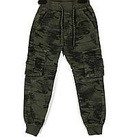 Стильные брюки милитари на мальчика, рост 116-146
