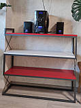 Стелаж декоративний Loft-HoReCa, фото 3