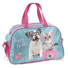 Милая детская спортивная сумка 13L Paso PTK-074