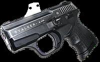 Пистолет сигнальный, стартовый, шумовой Stalker (Zoraki) 906 Черный (Black Matte)
