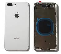 Кришка задня iPhone 8 Plus (5.5) з рамкою Silver